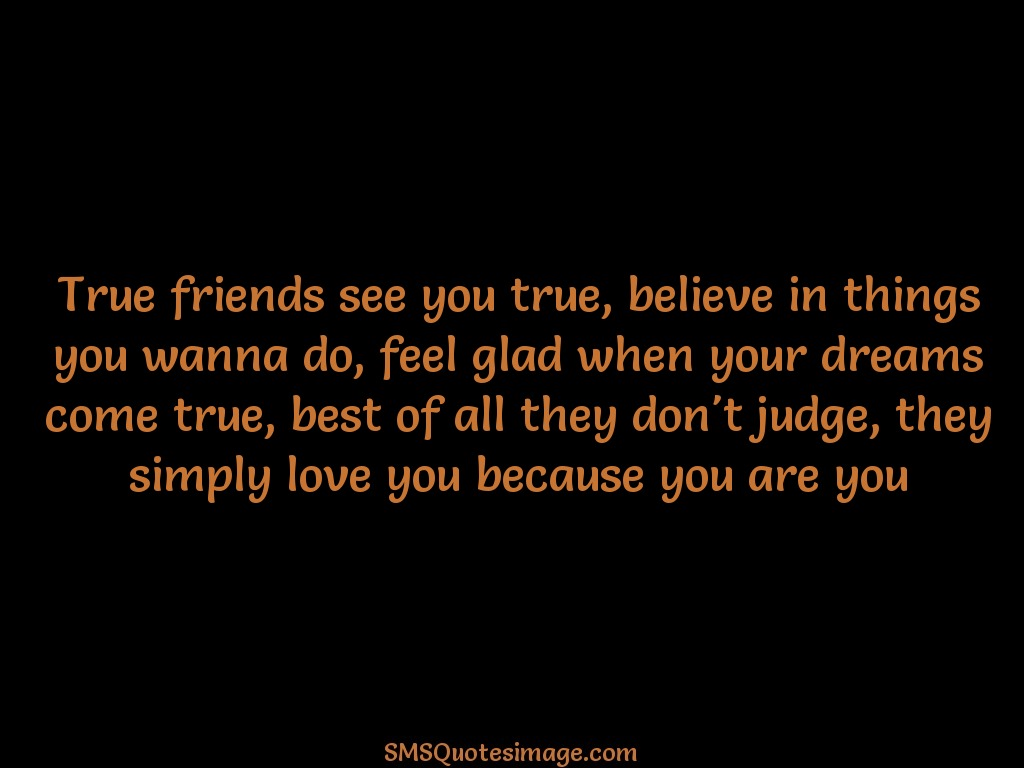 True Friends Quotes N Images : True friends see you friendship sms quotes image
