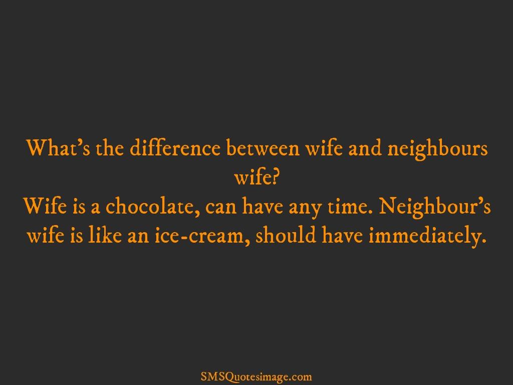Funny Wife is a chocolate