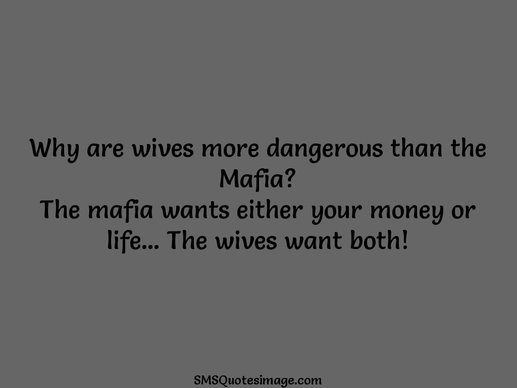 Marriage Why are wives more dangerous