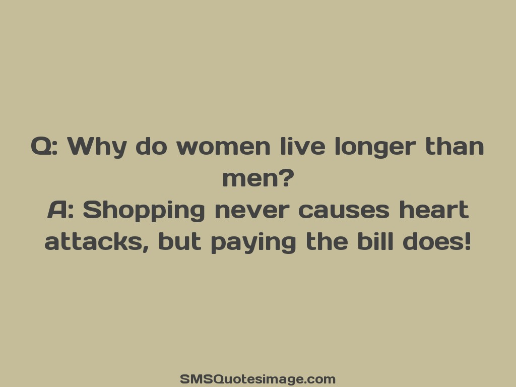 Marriage Why do women live longer