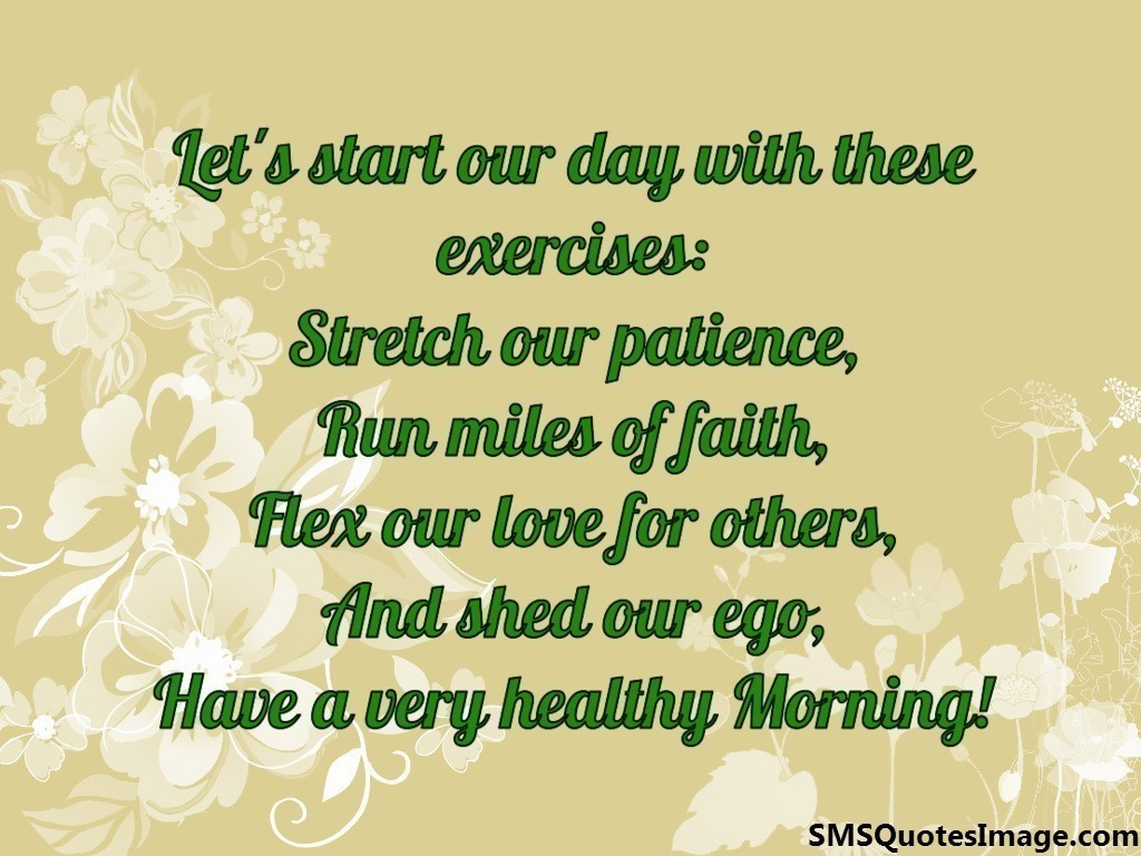 Good Morning to a Special Person Quotes Good Morning Sms / Quote Image