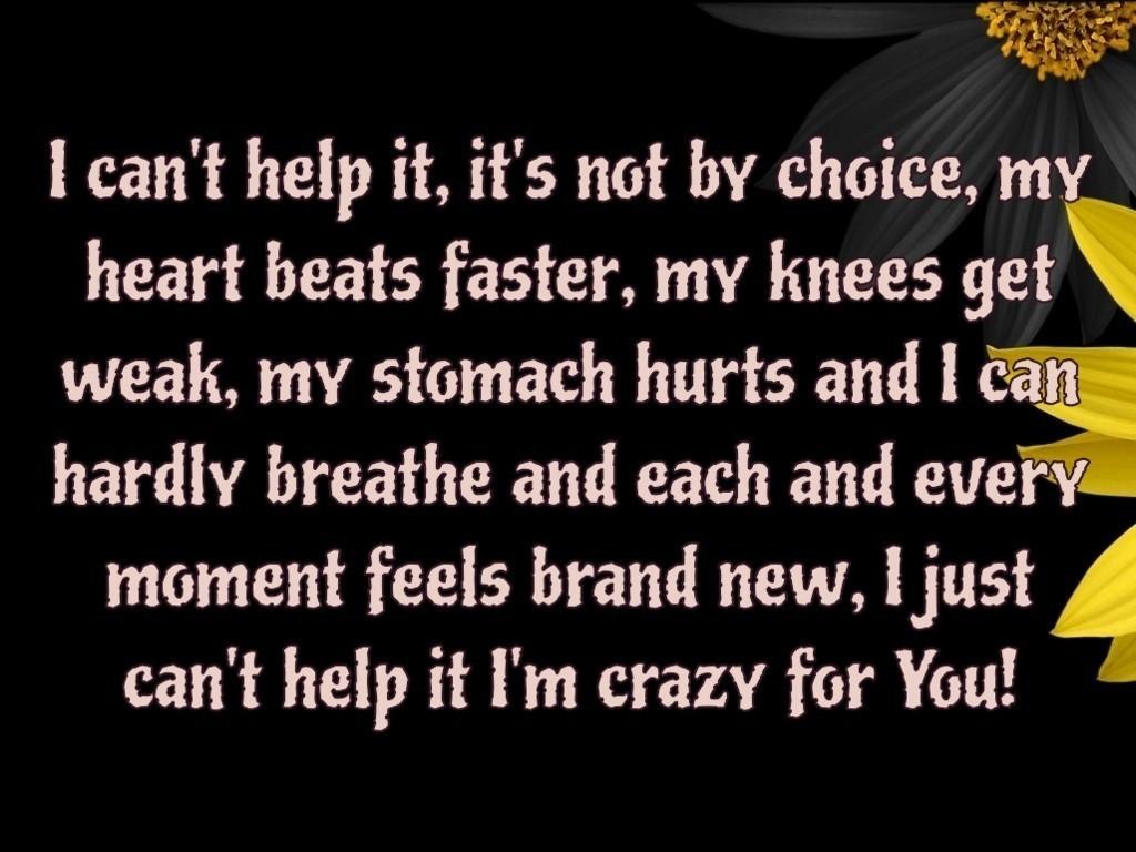 Flirt SMS  Quote Image  I m  I Am Crazy Quotes