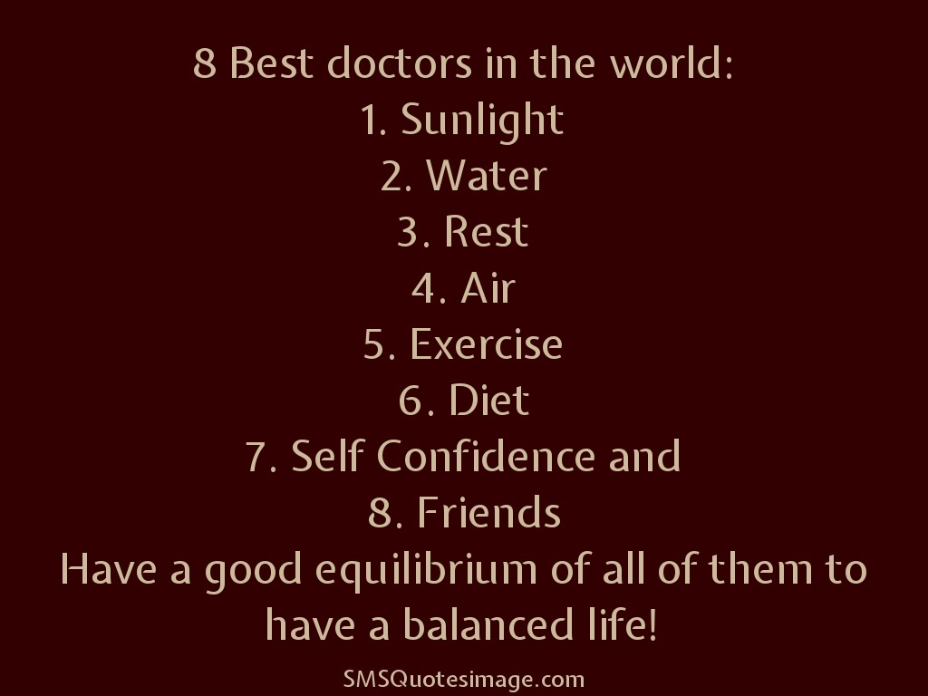 8 Best doctors in the world - Life - SMS Quotes Image