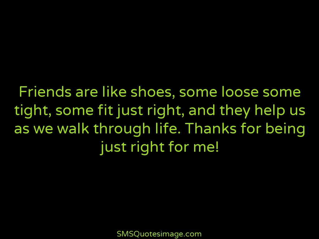 Quotes About Friendship With Images Friends Are Like Shoes  Friendship  Sms Quotes Image
