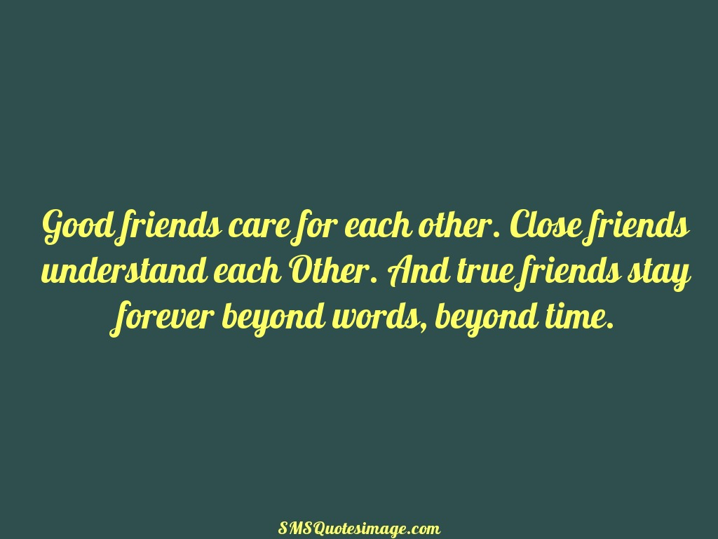 Friendship True friends stay forever