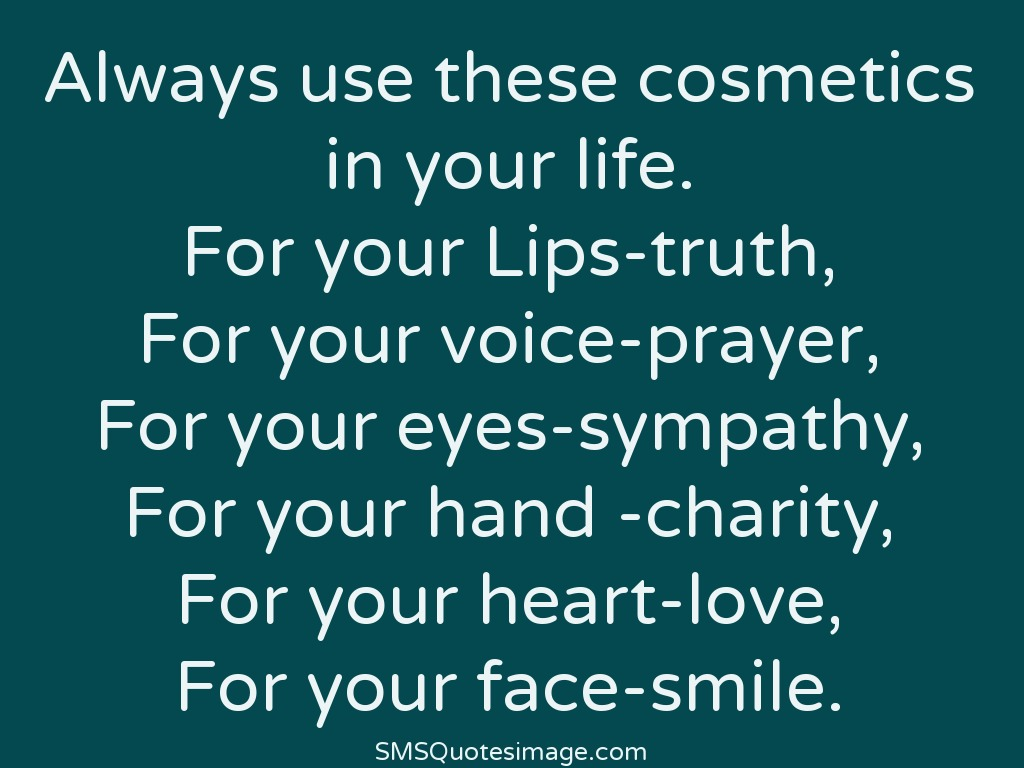 Life Cosmetics in your life