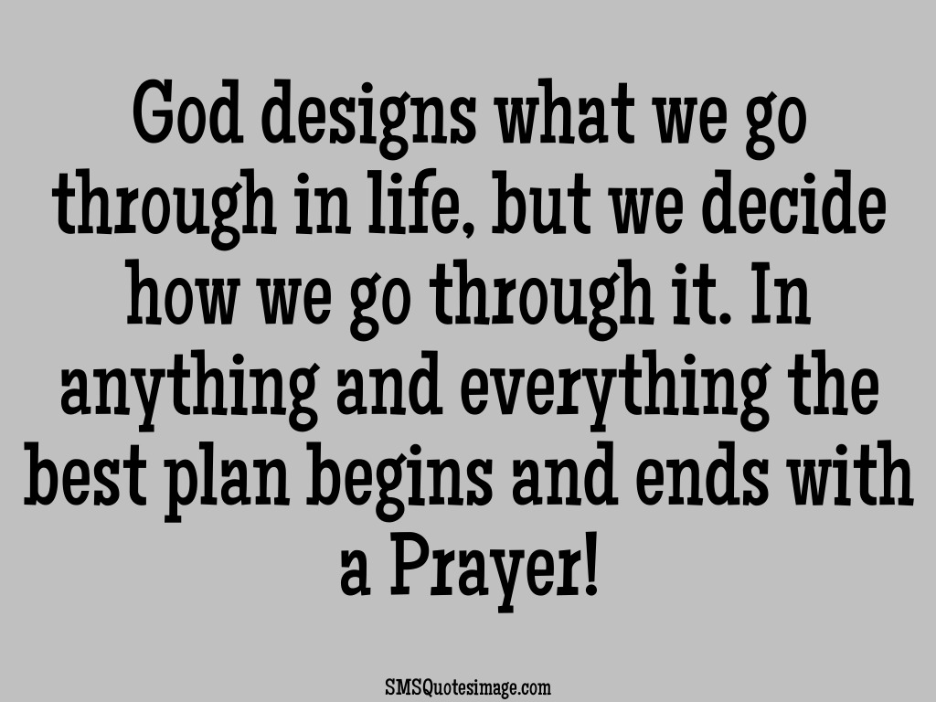 Life God Designs What We Go Through · Download Quote Image