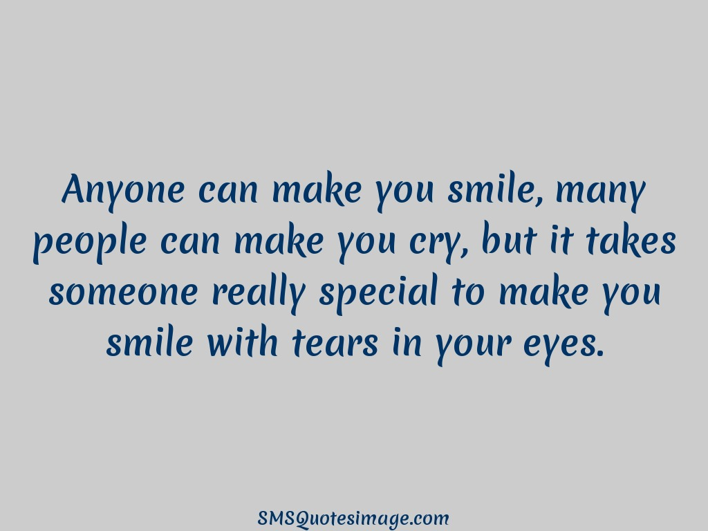 Quotes That Make You Smile Anyone Can Make You Smile  Love  Sms Quotes Image