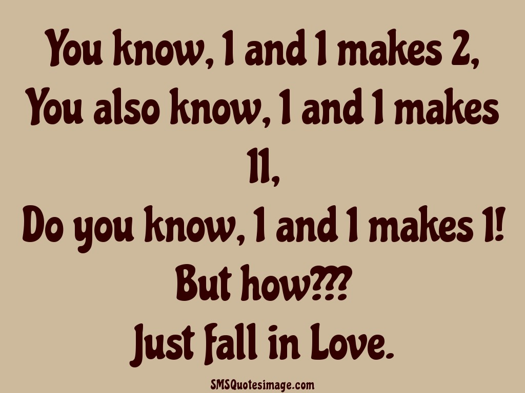 Love Just fall in Love