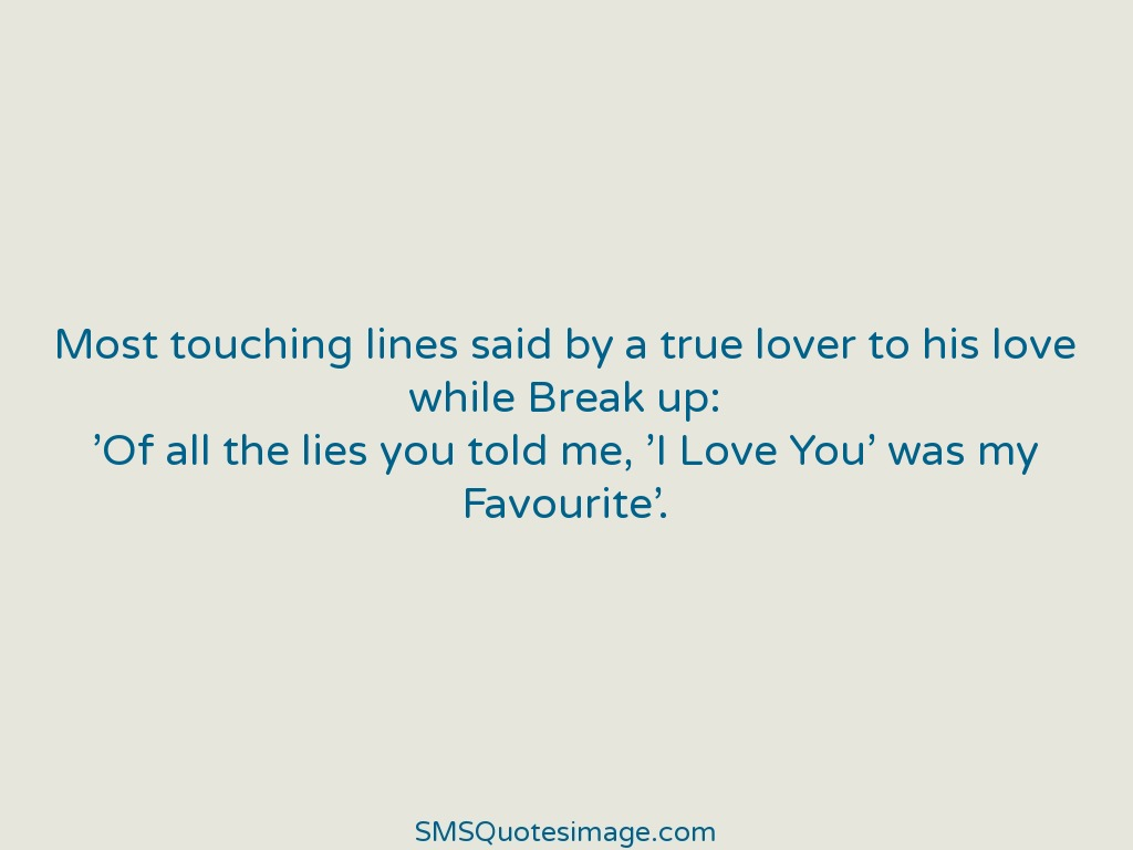 Love Most touching lines said by a true