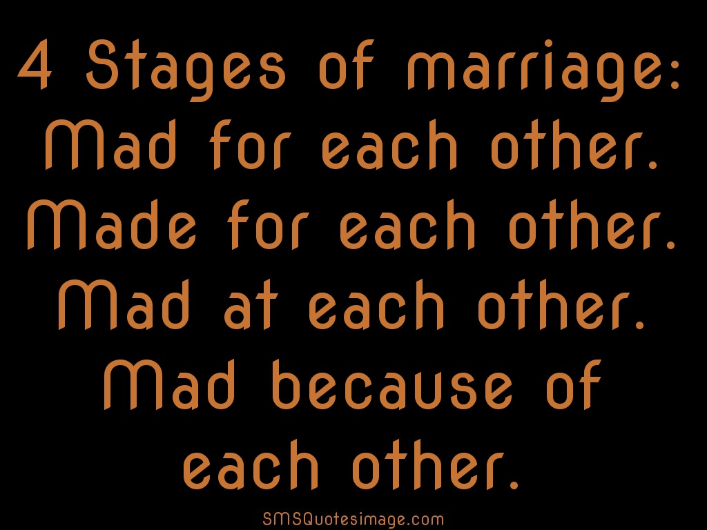 Marriage 4 Stages of marriage