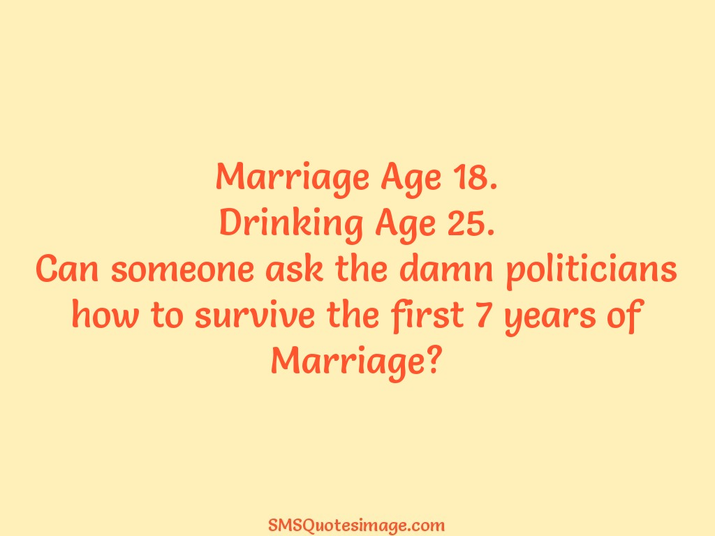Marriage Marriage Age 18