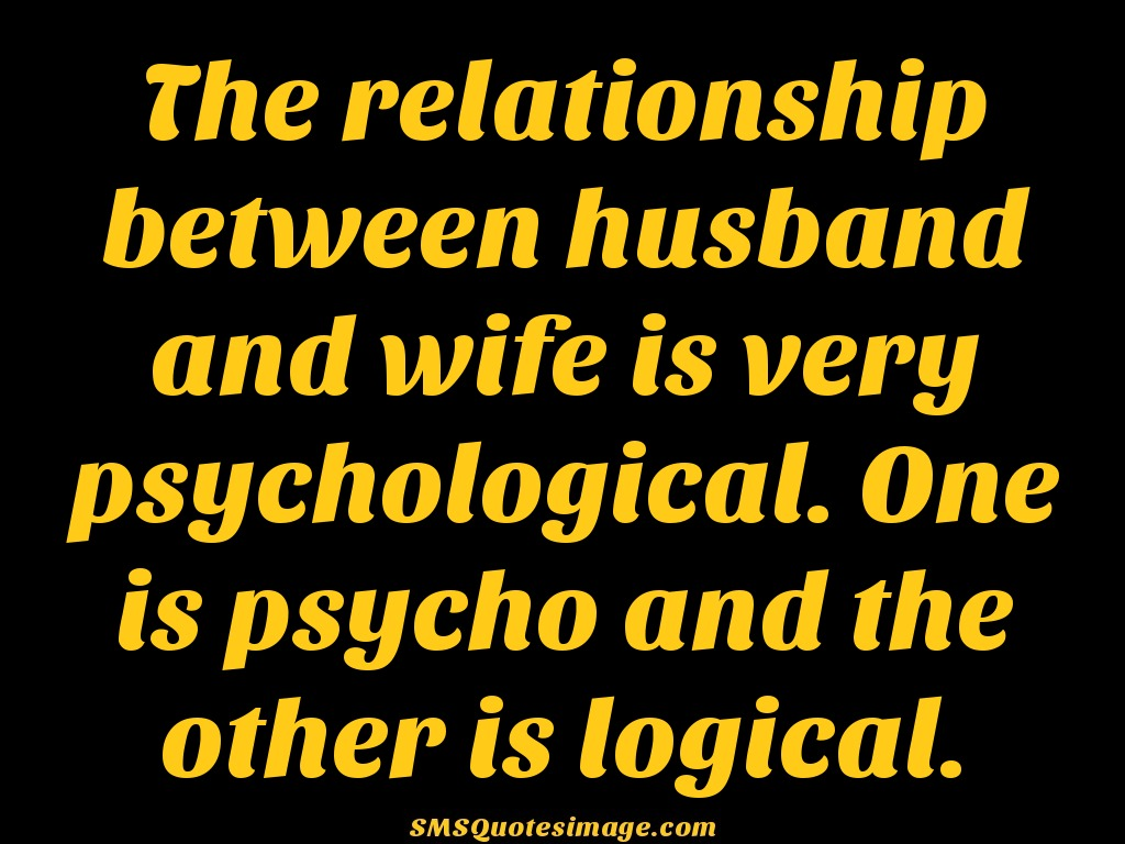 Marriage The relationship between husband
