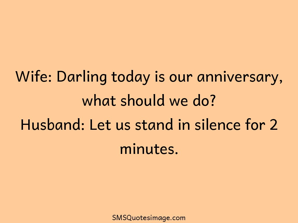 Marriage Today is our anniversary
