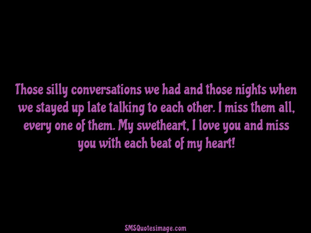 I Love You And Miss You With Missing You Sms Quotes Image