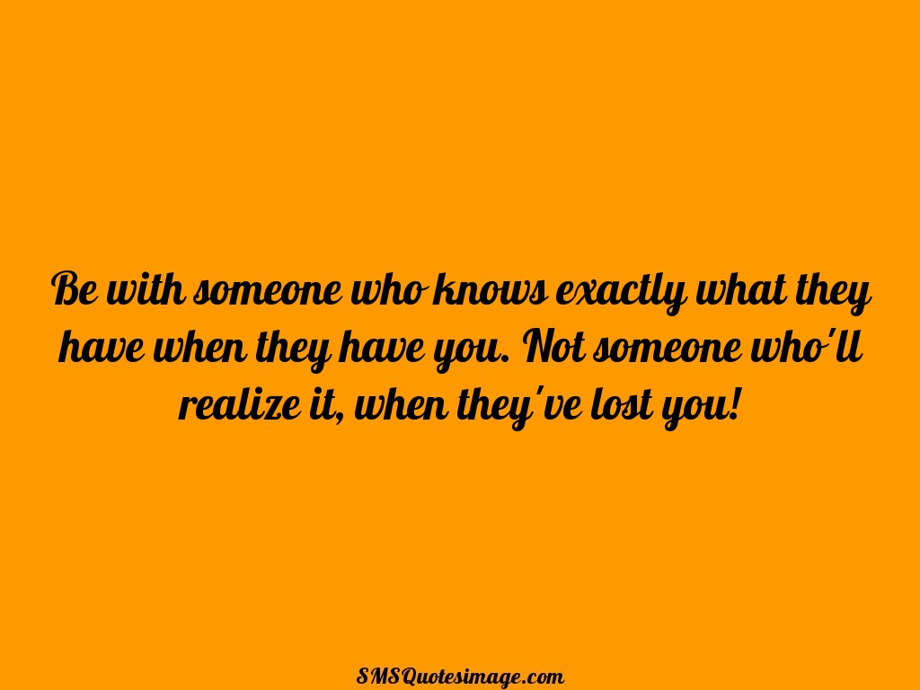 Wise Be with someone who knows