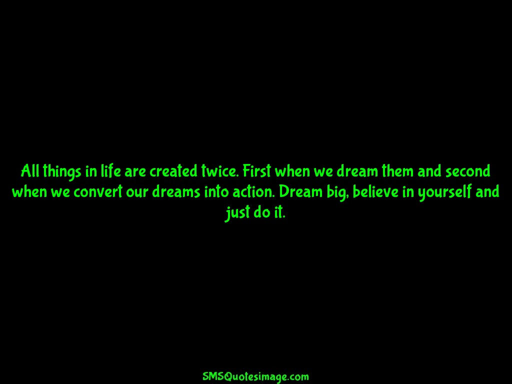 Wise Dream big, believe in yourself
