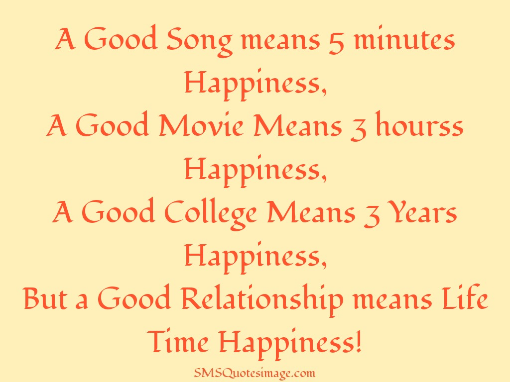 relationship wise meaning of life