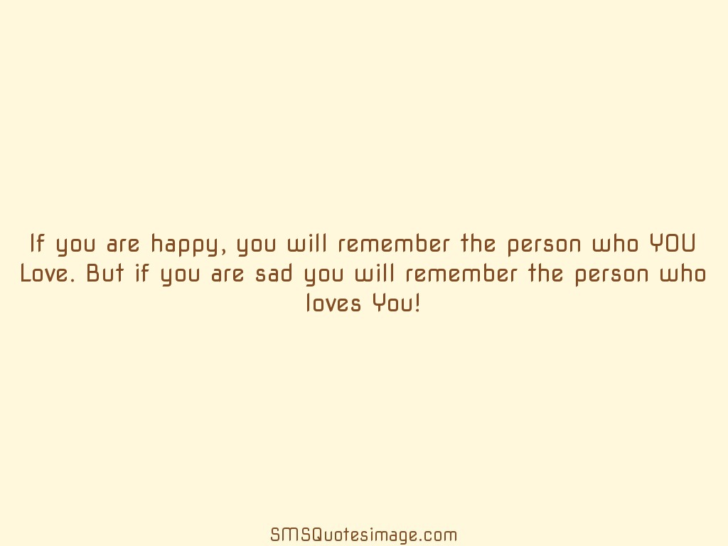 Wise If you are happy