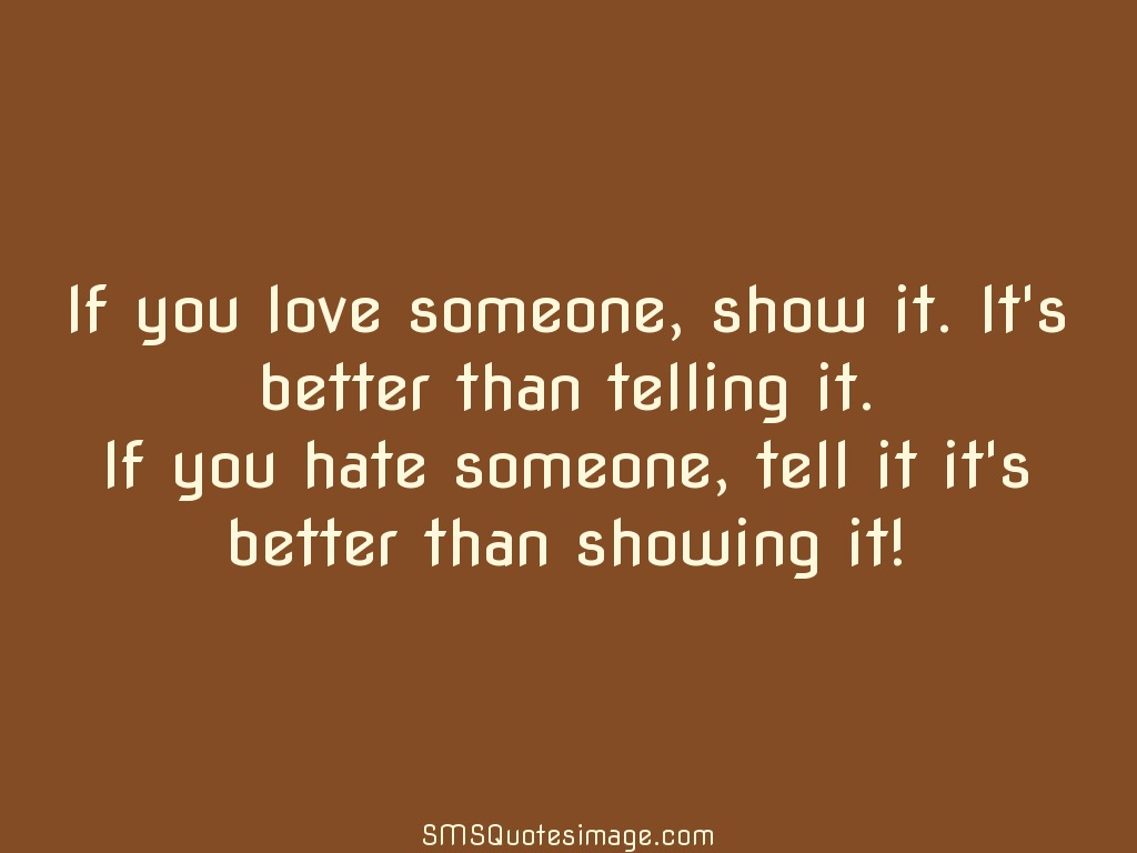Wise If you hate someone