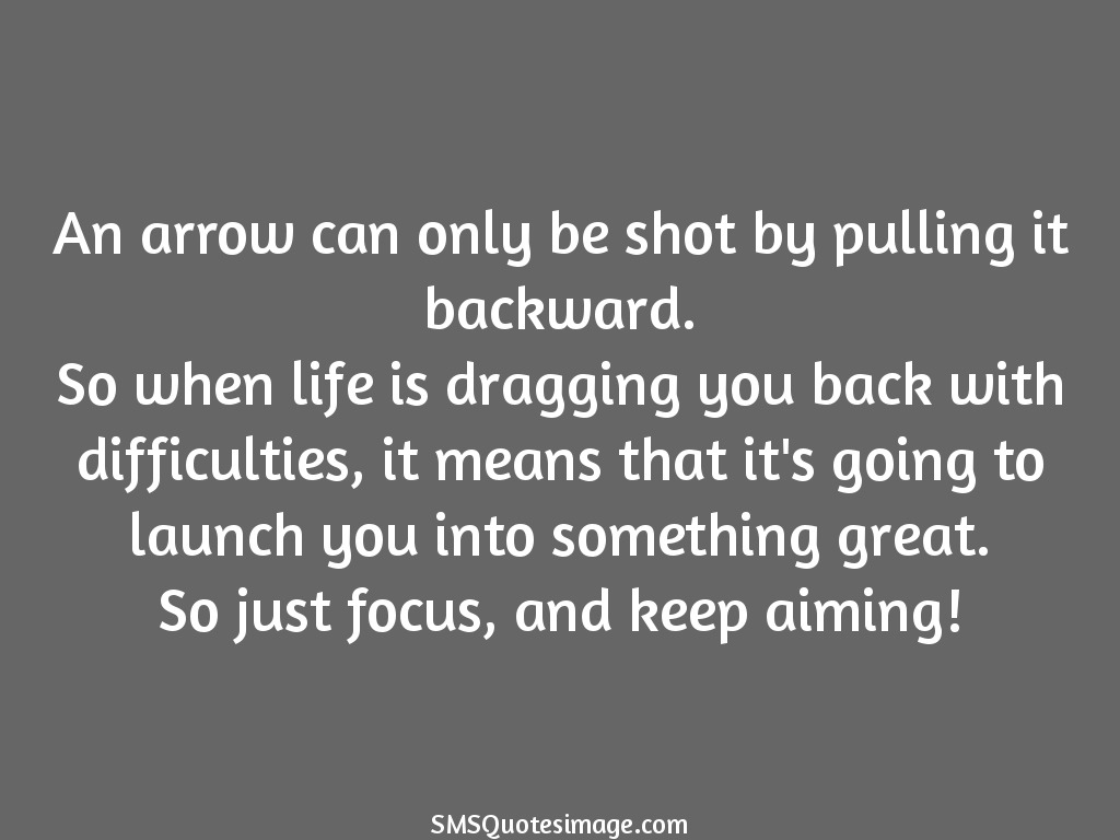 Wise Just focus and keep aiming