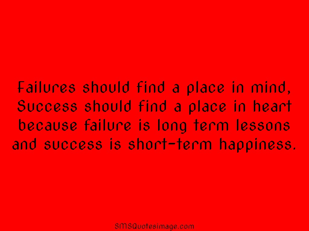 Wise Success is short-term happiness