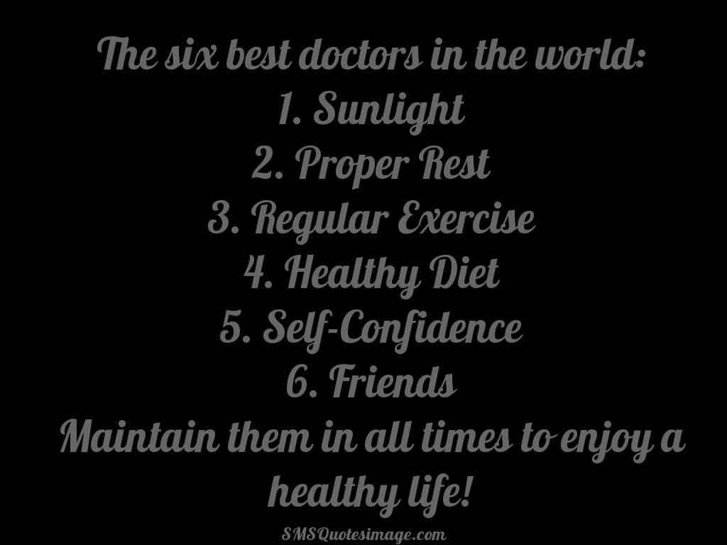 Wise The six best doctors in the world
