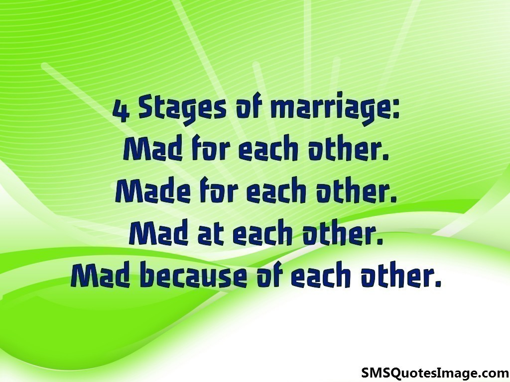 4 Stages of marriage