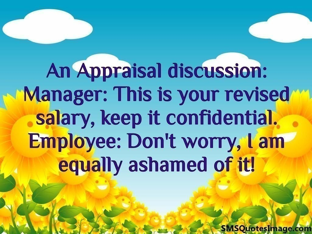 An Appraisal discussion