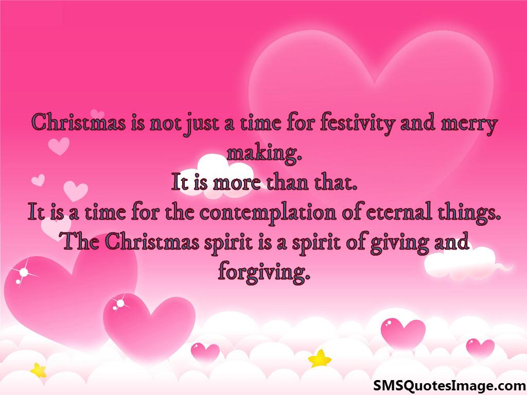Christmas spirit - Christmas - SMS Quotes Image