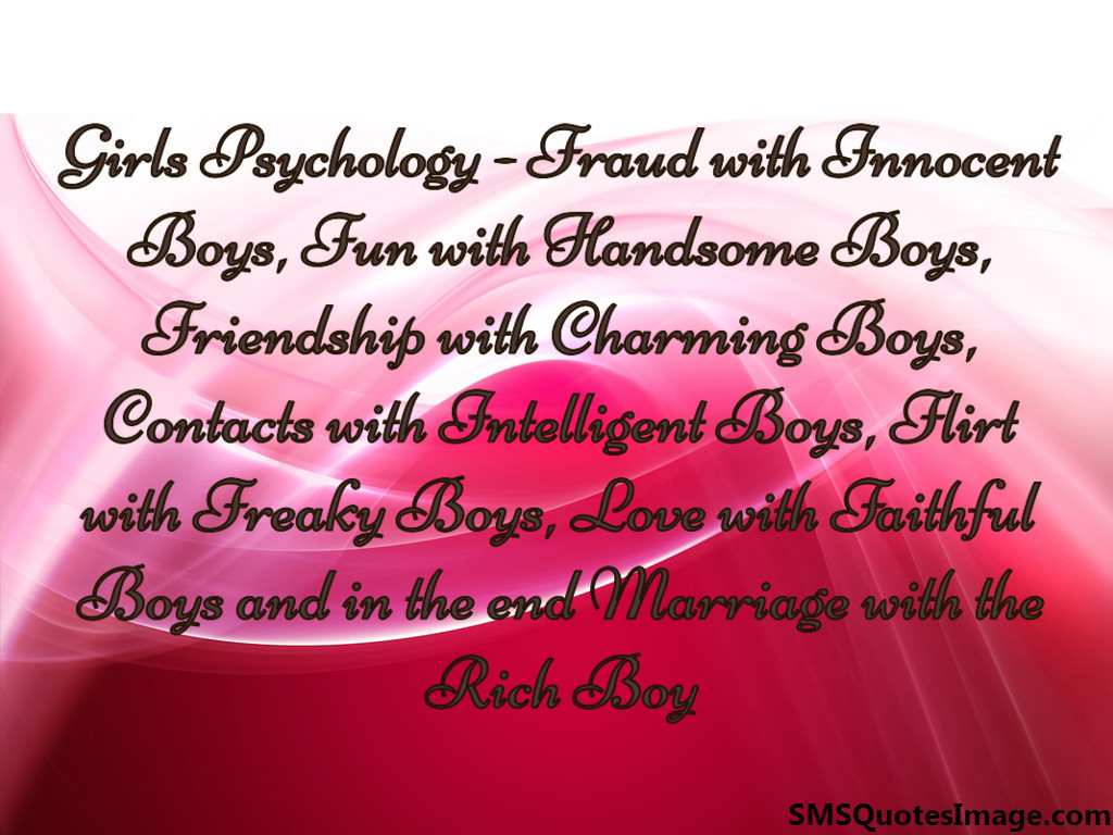 Girls Psychology