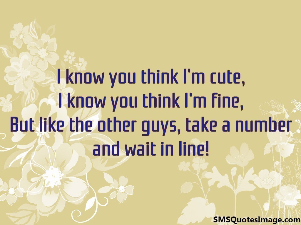 i am cute quotes