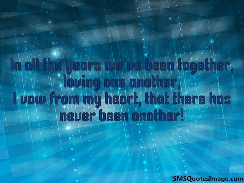 I vow from my heart