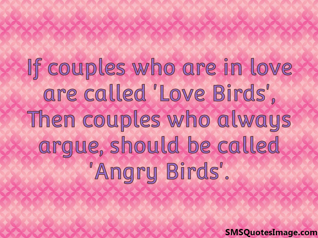 If couples who are in love