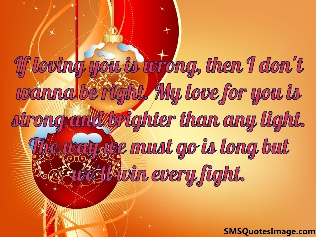 If Loving You Is Wrong Love Sms Quotes Image