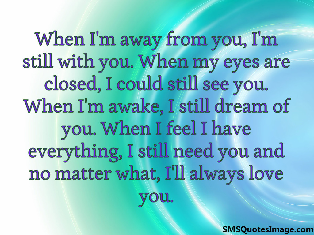 ll always love you - Love - SMS Quotes Image