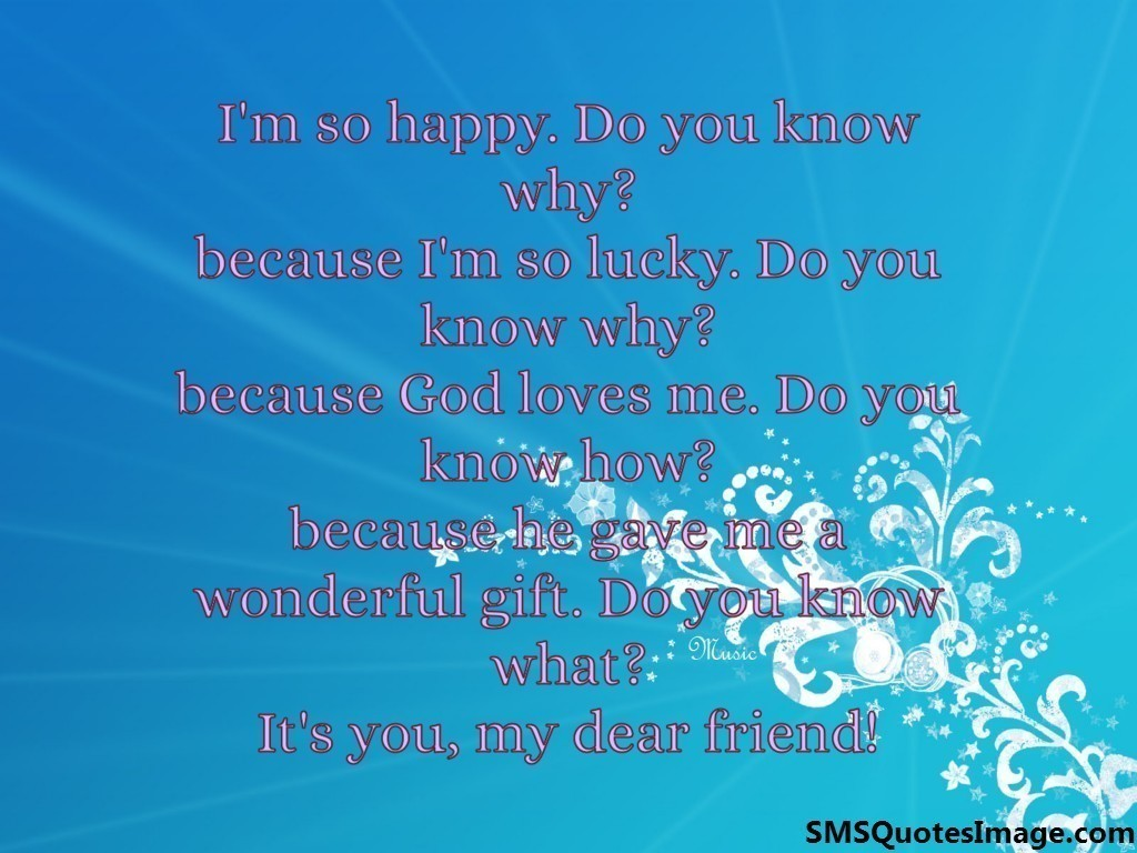 So Happy Quotes I'm So Happy  Friendship  Sms Quotes Image