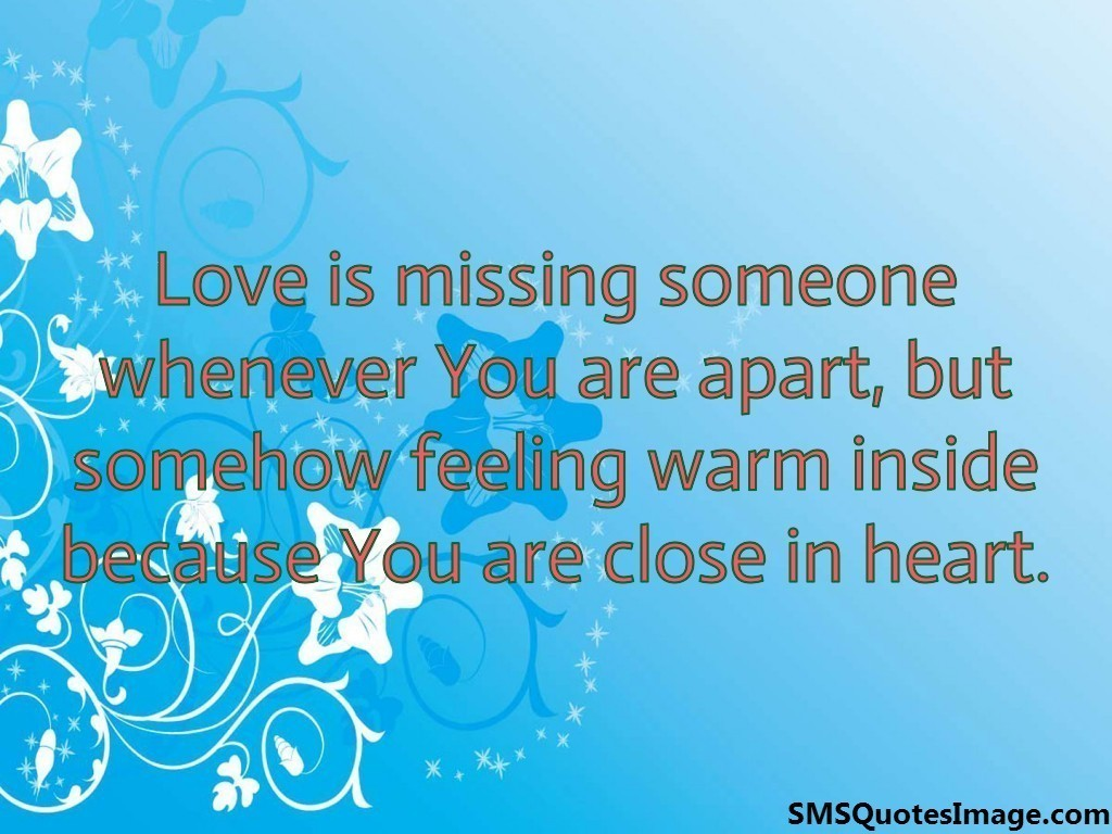 Sms missing love 2021 Love