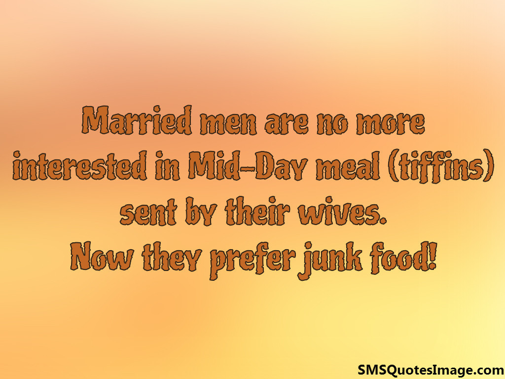 Married men are no more
