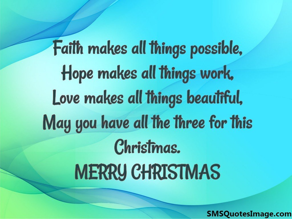 MERRY CHRISTMAS - Christmas - SMS Quotes Image