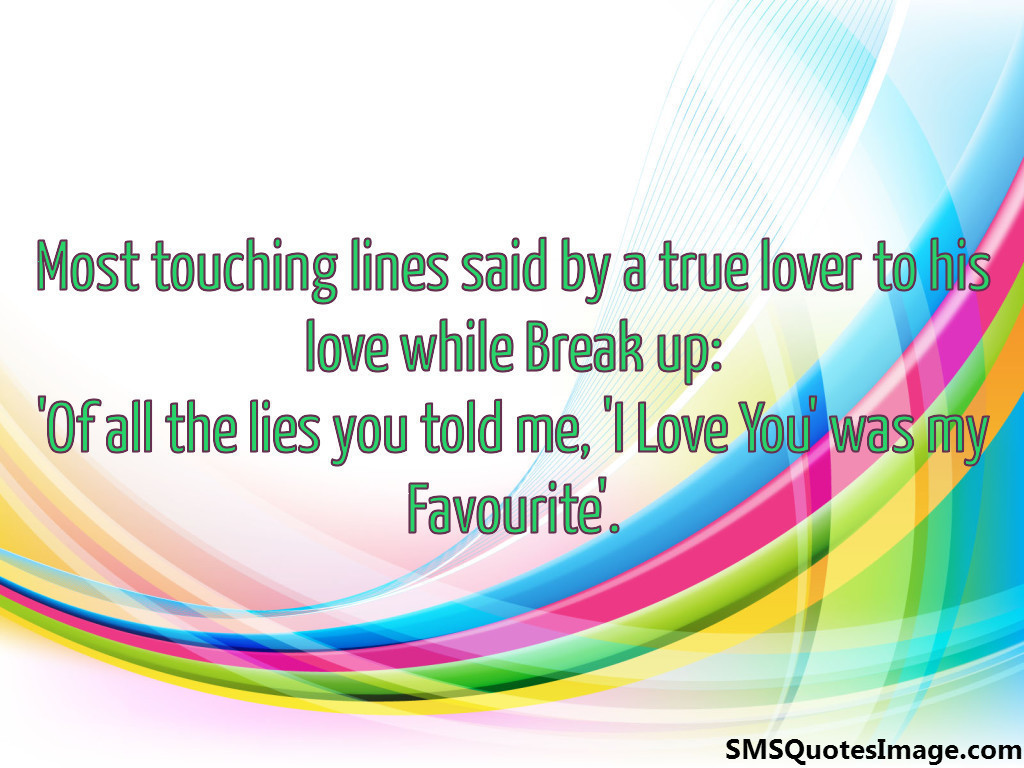 Most touching lines said by a true
