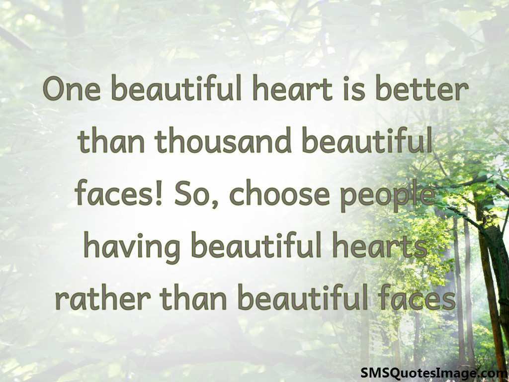 One beautiful heart is better