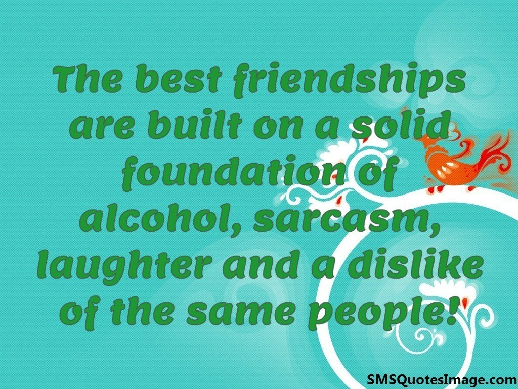 The best friendships are built on