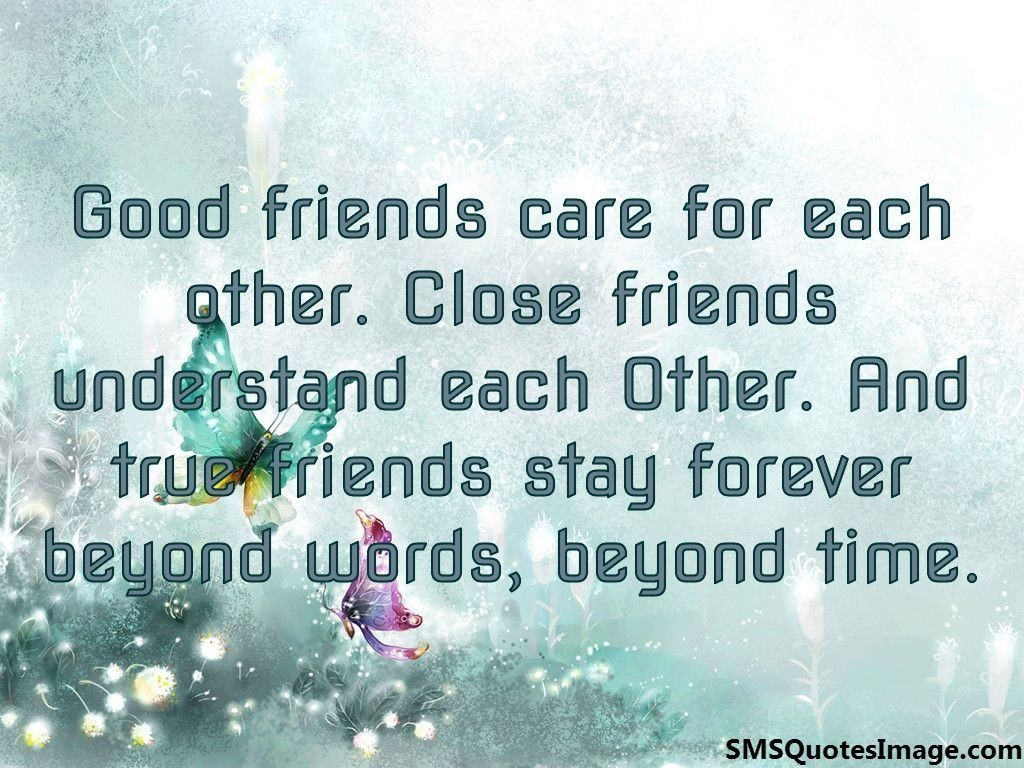 True friends stay forever