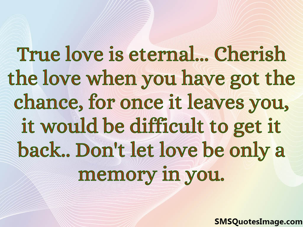 eternal life quotes love