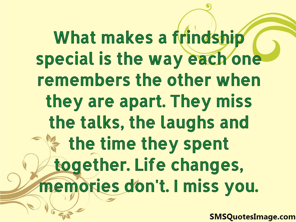 What makes a frindship special