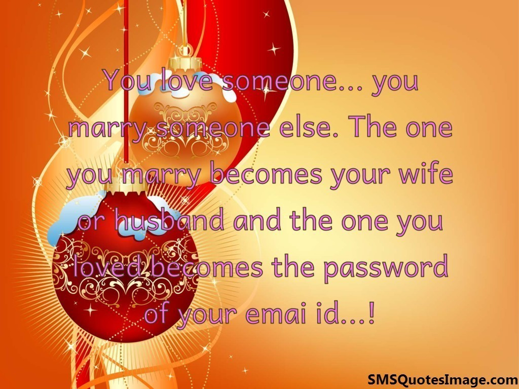 You love someone