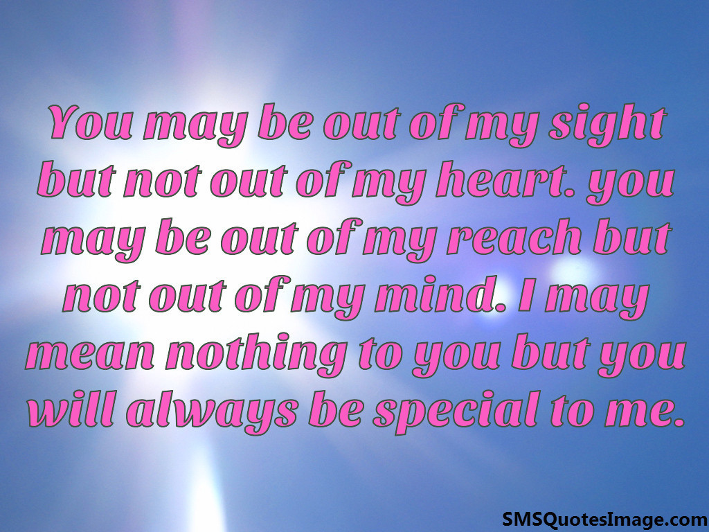 You Will Always Be Special To Me Flirt Sms Quotes Image